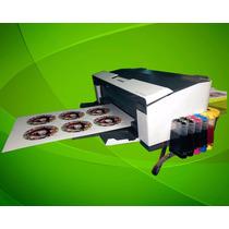 Epson T1110 Nuevo Adaptado Para Imprimir 6 Discos A La Vez