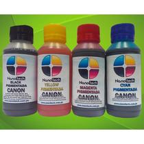 Tinta Pigmentada Para Sistema Continuo Canon Alta Calidad