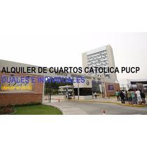 Alquiler De Cuartos Habitaciones Catolica Pucp