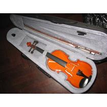 Violin Parrot 1/4 Con Arco,estuche Y Pez