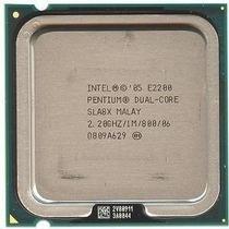 Procesador Pentium Dual E2200 A 2.2ghz + Cooler Intel Stock