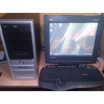 Pentium 4 De 2.4 Ghz,disco 80gb,ram 512mb + Monitor 15
