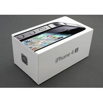 Iphone 4s 16gb Libres 8mpx Dual-core A5 Nuevo + Funda Y Mica