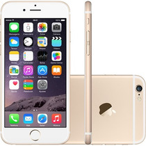 Iphone 6 16gb Claro/movistar 8mpx 4glte Dorado + Mica