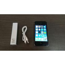 Iphone 4g , 16 Gb Color Negro Movistar Libre De Icloud