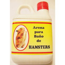 Arena Para Baño De Hámsters, Ratones Y Pequeños Roedores