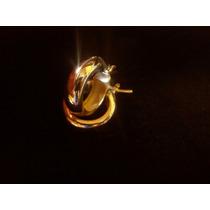 Aretes De Oro Amarillo De 18k / 5gr