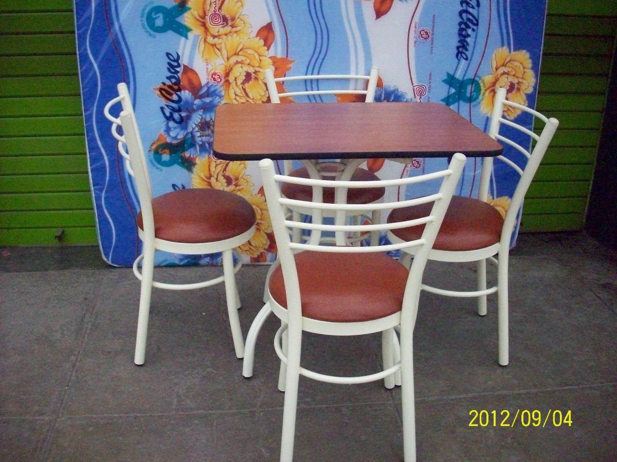 Juego de comedor con 4 sillas articulo nuevo s 345 for Comedor 4 sillas lider
