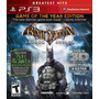 Batman Arkham Asylum Game Of The Year Edition 3d Juegos Ps3