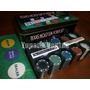 Poker 200 Fichas Enumeradas Con Fichero Y Caja De Metal
