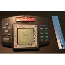 Monopolio Electronico Vintage Por Hasbro Unico Impecabl