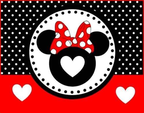 Tarjetas De Minnie Roja Para Cumpleaños Imagui