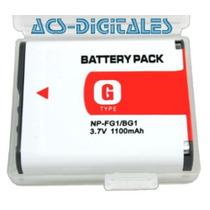Bateria Np-bg1 Np-fg1 Tipo G Para Camaras Sony Cybershot