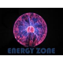 Lampara De Plasma Con Esfera Cristal Xl Modelo Grande - Xl