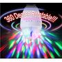 Foco Led Giratorio 360º Ideal Para Discotecas Bares Fiestas