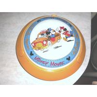 Lampara Para Habitación De Niños(as) Mickey Mouse 2 Focos.