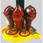 3 Lechuzas Lampara Decorativa Artesania Adorno Hogar Regalo
