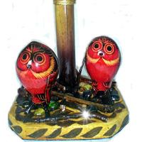 2 Buhos En Otoño - Lampara Decorativa Artesania Hogar Regalo