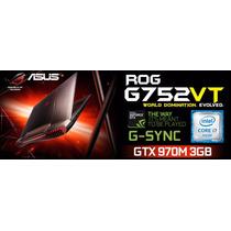 Asus G752vt Core I7 |16gb | 128gb Ssd + 1tb | 3gb Gtx970m