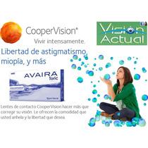 Lentes De Contacto Blandos - Avaira Toric- Real Confort
