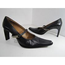 Zapatos Kenneth Cole Cuero Negro Talla 39 Envío Gratis..¡¡