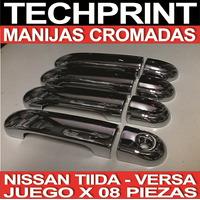 Manija Cromada Nissan Tiida Versa Modelo Japones O Mexicano