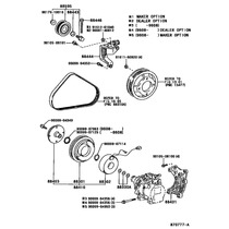Polea De Compresor Enfriador Toyota Tercel, Stalet