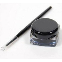 Delineador Negro Ojos Gel Sombra + Aplicador Maquillaje