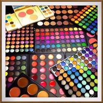 Paleta De 120 Sombras Profesionales, Maquillaje