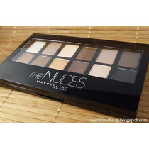 Sombras The Nudes De Maybelline