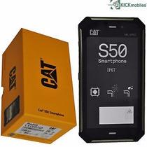 Cat S50, Android 4.4 Lte 4g,8mpx,8gb, 2gb Ram Nuevos En Caja