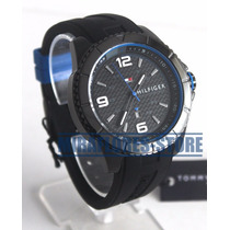 Reloj Tommy Hilfiger 1791017 Sport Black Blue Para Caballero