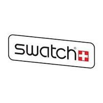Reloj Swatch Original Deportivo Negro Acuatico Calendario