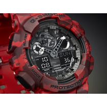 Reloj Casio G-shock Camuflado Ga 100cm En Stock Exclusivos