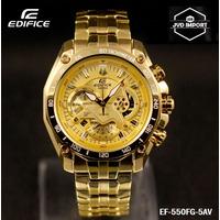 Reloj Casio Edifice Ef-550fg Dorado - 100% Nuevo Y Original