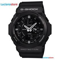 Reloj Casio G-shock Ga-150-1a Negro Led 100% Original Ztr