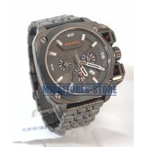 Reloj Diesel Dz7344 Bamf Análogo Acero Para Caballero