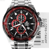 Reloj Casio Edifice Ef-539d-1a4v -100%nuevo Sellado Original