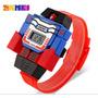 Reloj Transformers Niños - Skmei Deportivo