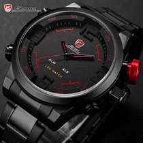 Reloj Shark Gulper Alarma Led Exclusivo Original!
