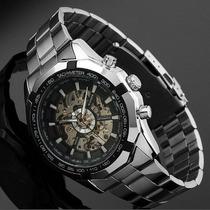 Reloj Winner Skeleton Automatico No Usa Pilas