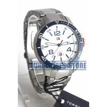 Reloj Tommy Hilfiger 1790846 De Acero Y Fecha Para Caballero