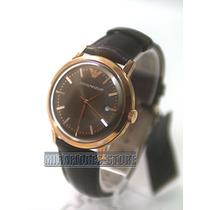 Reloj Armani Exchange Ar0574 Elegante De Cuero De Caballero