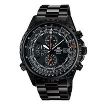 Reloj Casio Edifice Ef-527bk-1av Nuevo En Caja + Garantia