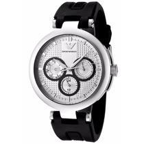 Reloj Emporio Armani Ar0735 Cronógrafo Caucho Nuevo Caja