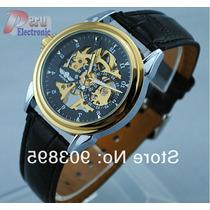 Reloj Skeleton Winner Automatico Esqueletico Variedad
