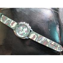 Reloj Camuflado Back Steel Stainless