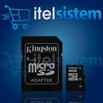 Memoria Micro Sd 16 Gb Clase 10 Kingston Por Mayor Y Menor