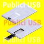 Usb Tipo Tarjeta 8gb, Memoria Usb,card Para Impresion