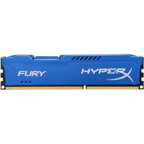 Memoria Kingston 4gb Dddr3 1600mhz Khx Fury Blue Hx316c10f/4